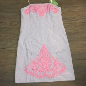 NWT Lilly Pulitzer Bowen size 12 seersucker dress